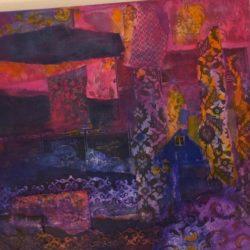 purple wealth - vibration art