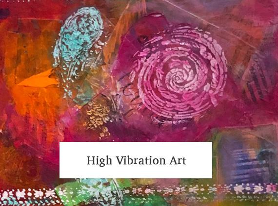 high vibration art - mary ann antenucci